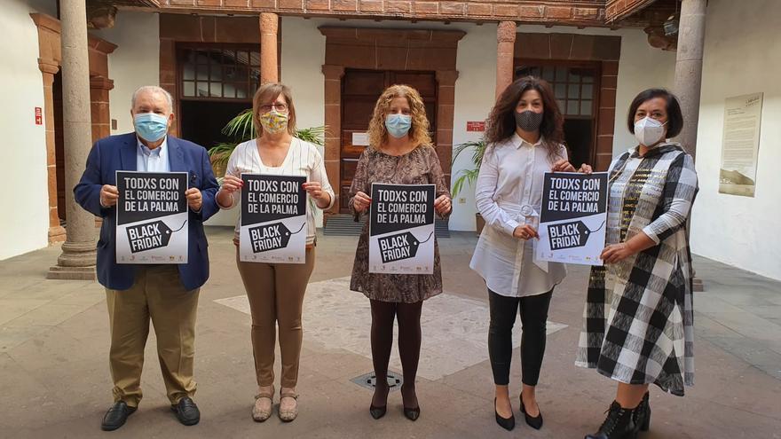 El Cabildo de La Palma crea un frente común para incentivar el consumo y apoyar al comercio local en el Black Friday