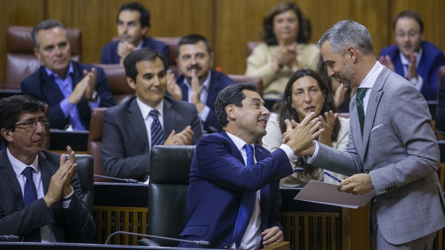 Aprobado el primer presupuesto del Gobierno andaluz de PP-A y Cs, con el apoyo de Vox