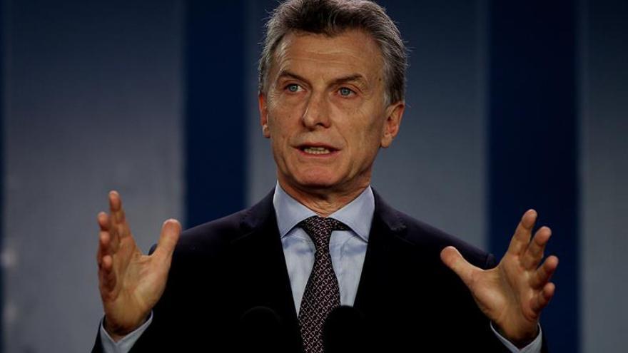 Macri anuncia el plan nacional de Argentina contra la violencia de género