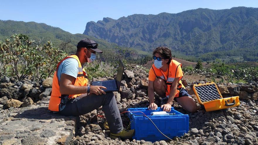 El Involcan realiza una nueva campaña de tomografía de ruido sísmico en La Palma
