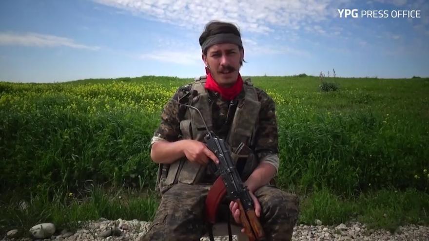 Robert Grodt, activista de Occupy Wall Street oriundo de California, murió el 6 de julio en Raqqa. YPG