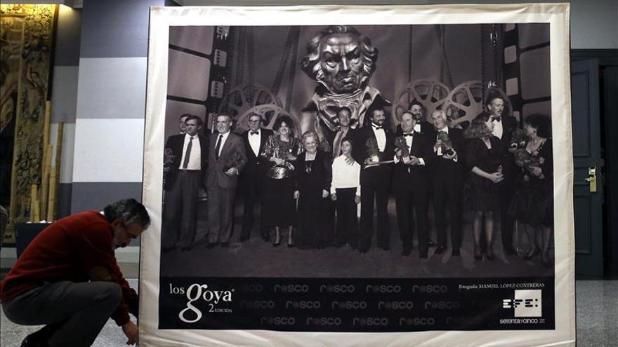 La Agencia Efe pone memoria y emoción a los Goya con fotos de todas las galas