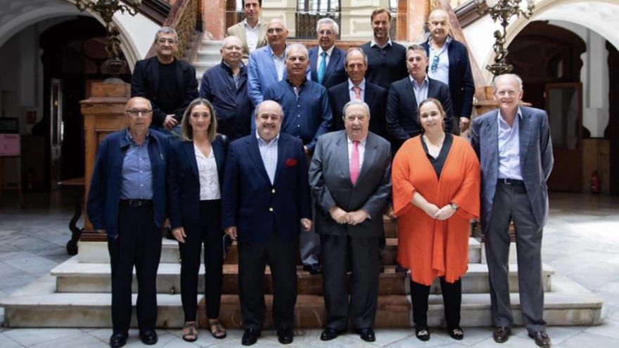 Última reunión de los presidentes y presidentas de ASOCLUB en el Gabinete Literario.