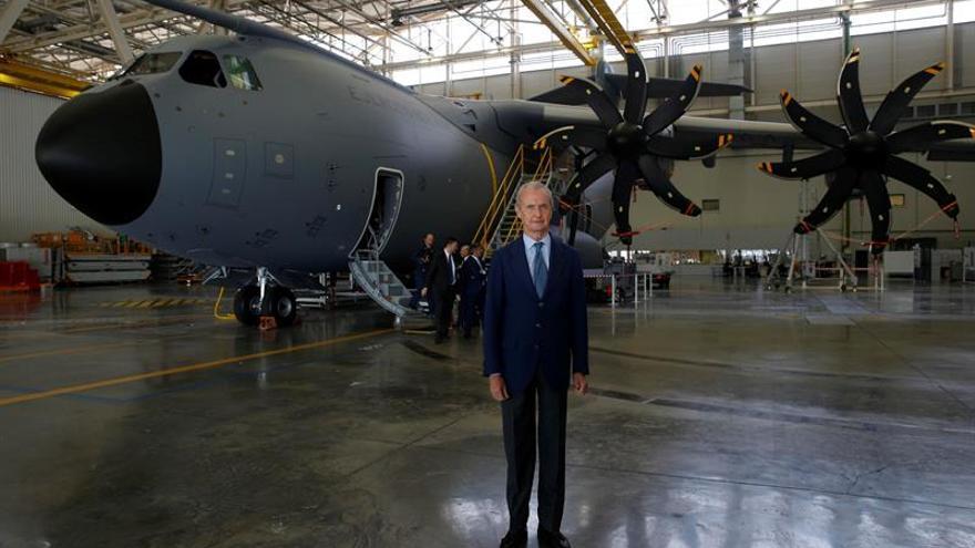 España recibirá el primer avión de transporte europeo A400M en septiembre