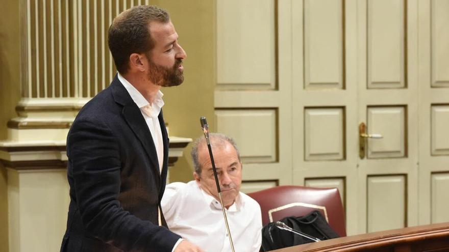 Juan Márquez, diputado regional de Podemos Canarias