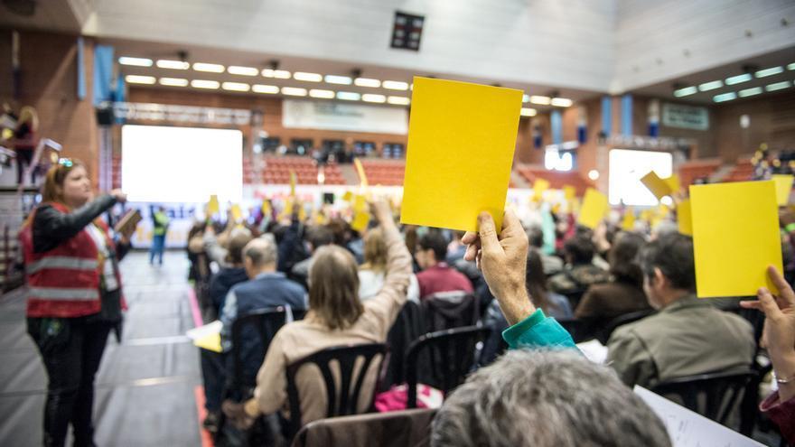 Votacions a la 1ª Assambla de Un País en Comú