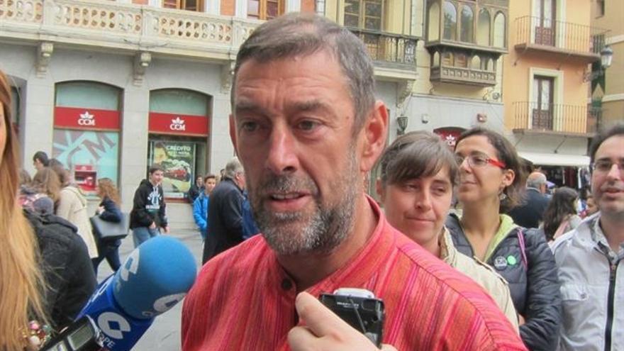 Alejandro Ávila, candidato a la presidencia de Castilla-La Mancha por IU / Foto: Europa Press