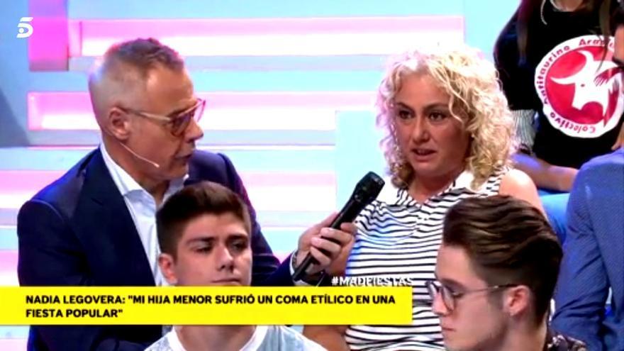 Jordi González y la madre de Dakota en Mad in Spain