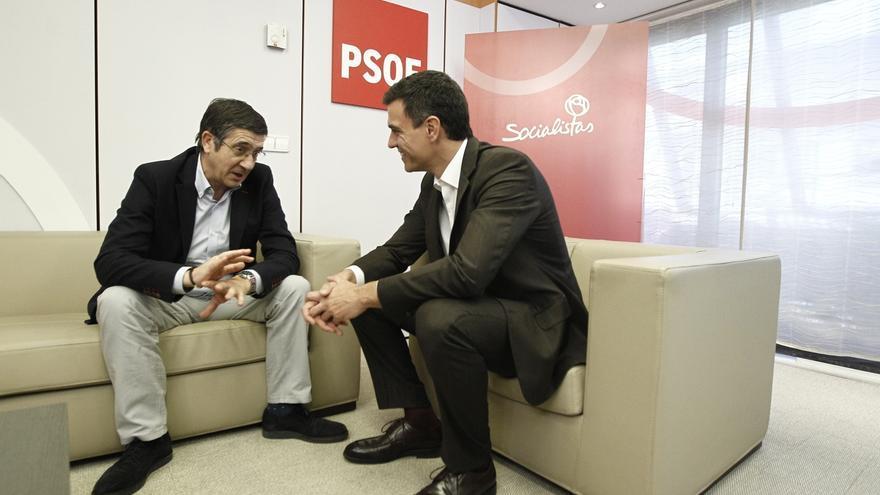 Patxi López ve posible un acuerdo de PSOE y Podemos para desbancar al PP de Moncloa, aunque sea el más votado