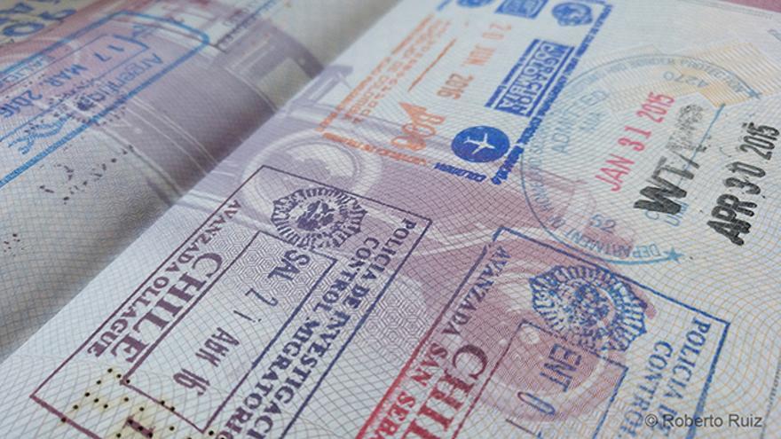 Imagen de un pasaporte.