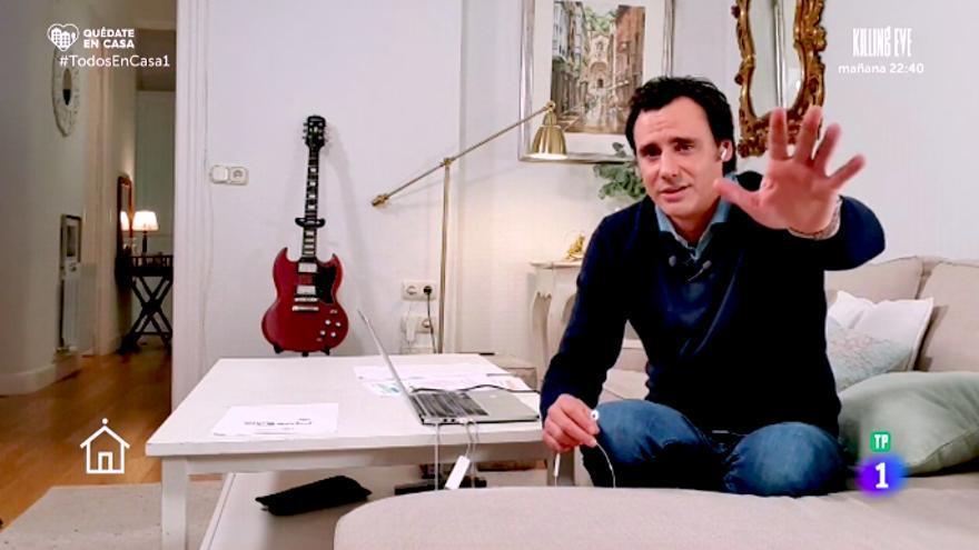 'Todos en casa', el reflejo televisivo de nuestra situación actual con Ion Aramendi como acertado anfitrión