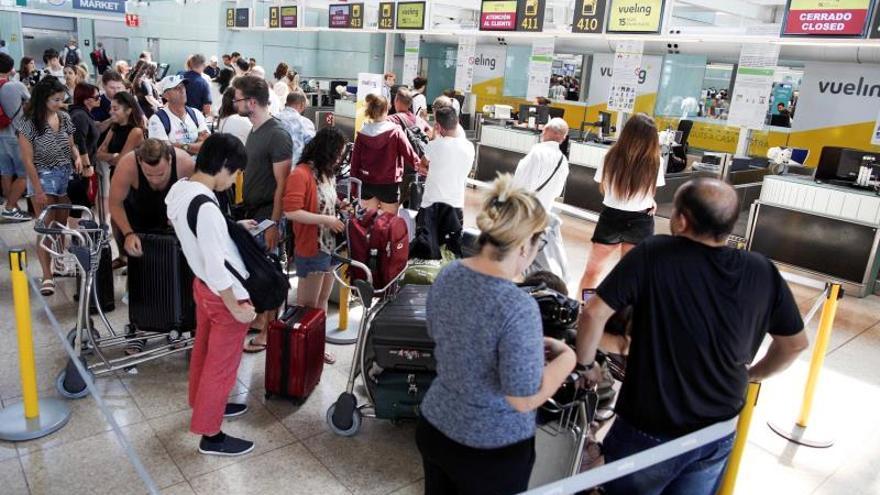Iberia cifra en un 11 % el seguimiento de la huelga del personal de tierra