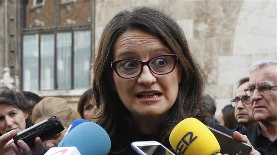 Oltra pide a Sánchez valentía y que se fije en el pacto de la C. Valenciana