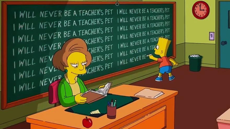 Fotograma de 'Los Simpson'