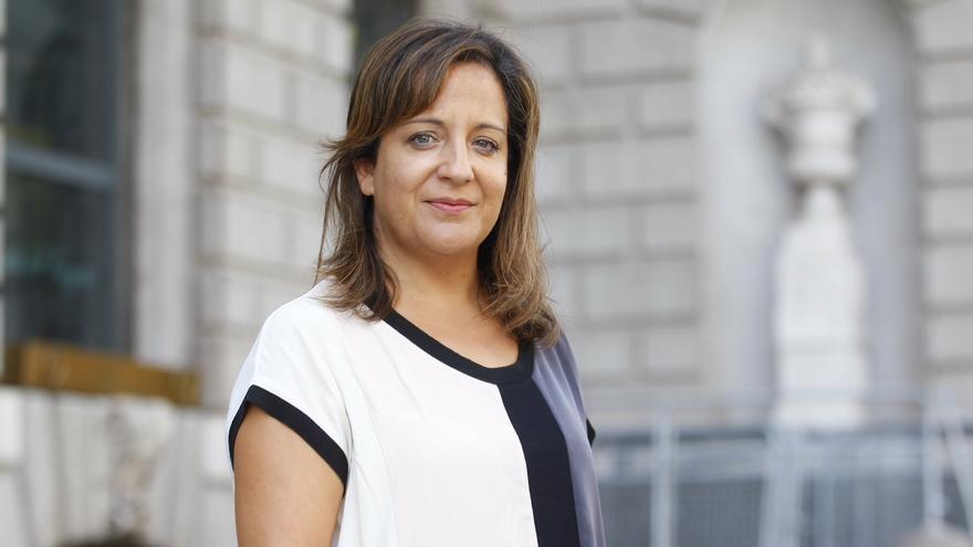 Iratxe García, portavoz del PSOE en Europa