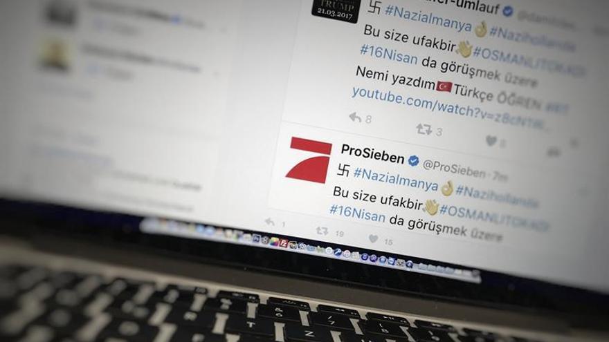 Piratas informáticos turcos alteran decenas de cuentas mundiales de Twitter
