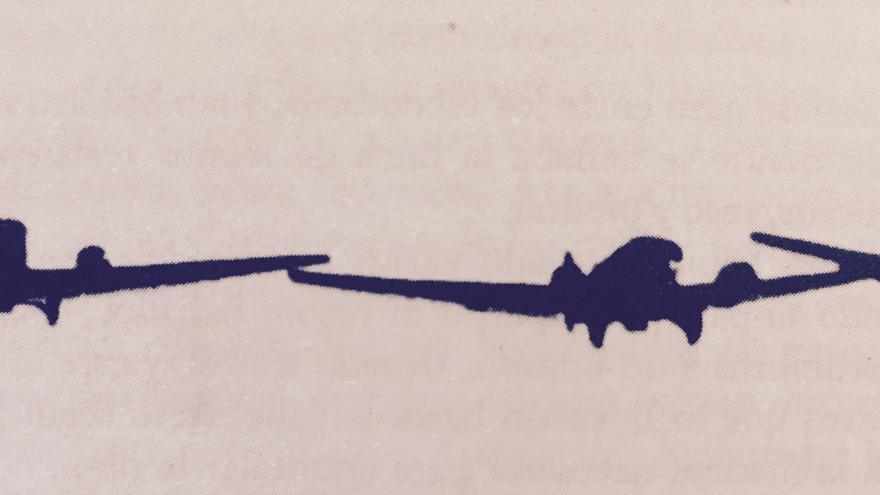 Tres aviones alemanes bombardeando Guernica