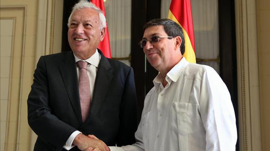 García-Margallo se reúne en La Habana con el ministro de Exteriores cubano