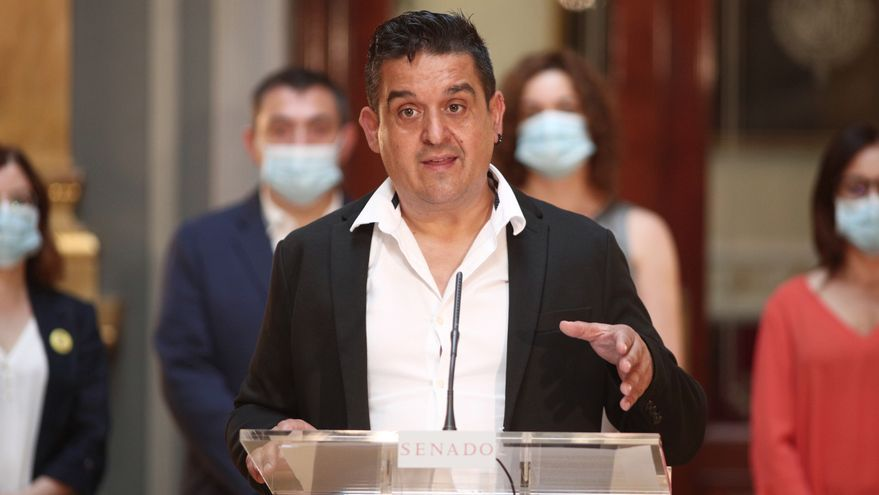 El senador de Compromís, Carles Mulet, en una imagen de archivo