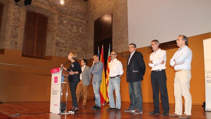 Acto de UPyD en Valencia.