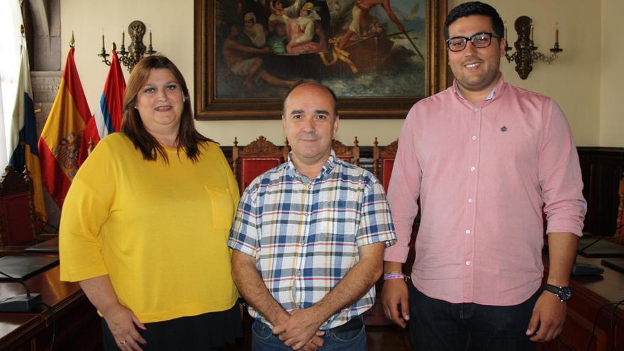 Gazmira Rodríguez, José Carlos Martín y Rayco Arrocha.