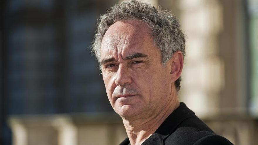 Ferran Adrià trae a Londres la revolución culinaria de El Bulli