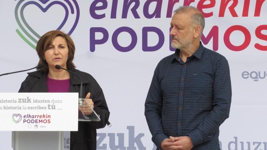 Elkarrekin Podemos pide un plan contra la violencia machista dotado con 600 millones anuales
