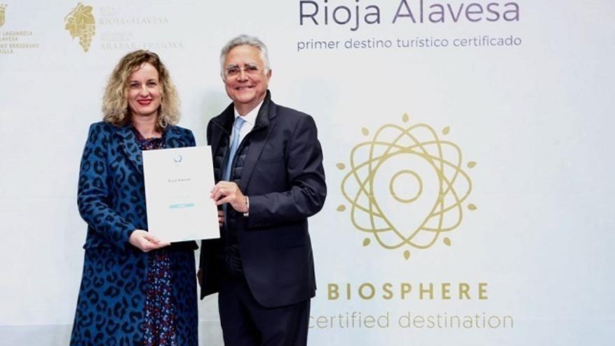 Rioja Alavesa consigue el certificado 'Biosphere' como destino turístico responsable y sostenible