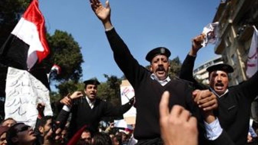 Siguen las protestas en Egipto. (EUROPA PRESS)