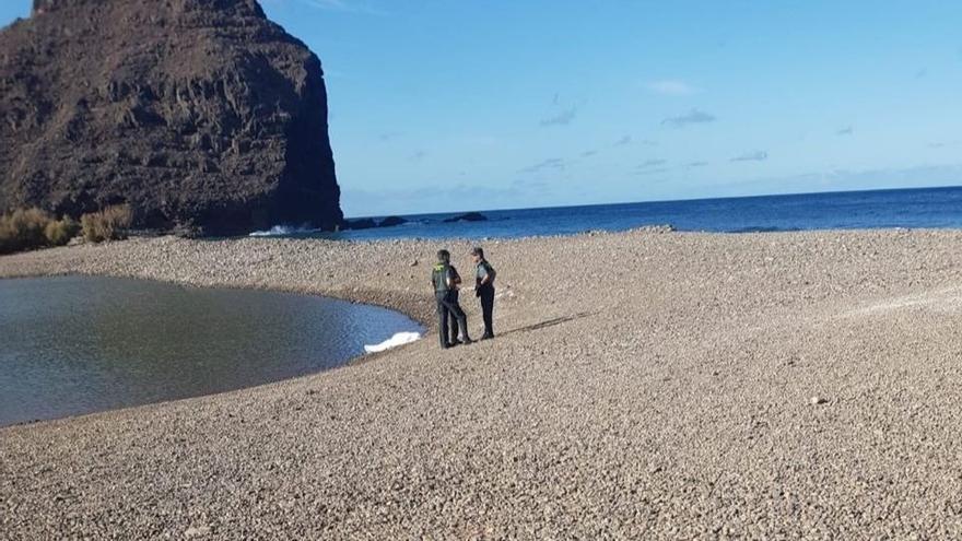 Cadáver encontrado este lunes en El Charco, en Gran Canaria