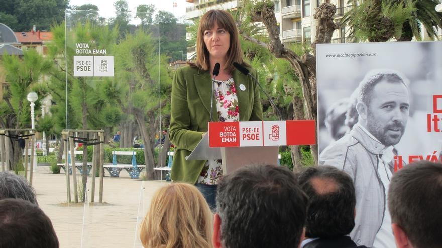 """Mendia pide el apoyo al PSE para desbancar a Bildu y dice que votar al PNV es """"tirar el voto a la basura"""""""