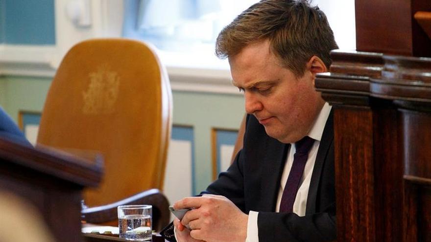 El primer ministro islandés descarta dimitir por las revelaciones de Panamá