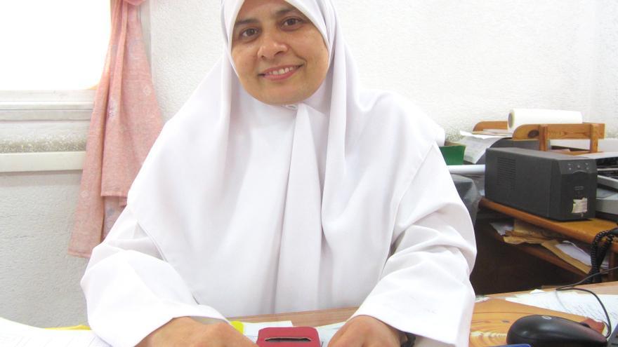 Huda es enfermera en el Centro de Salud Al Saftawi, en el norte de Gaza