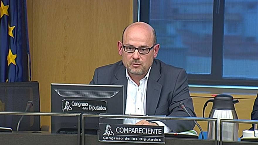 Juan Antonio Sánchez Corrales, exdirector de instalaciones de control del tráfico de Adif en la línea Ourense-Santiago