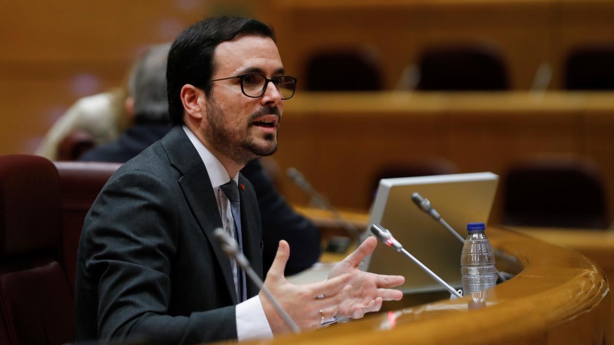 El ministro de Consumo, Alberto Garzón. EFE/J.J. Guillén/Archivo