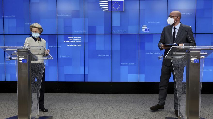 """La UE desea superar el veto polaco-húngaro al presupuesto ante una """"recesión profunda"""""""