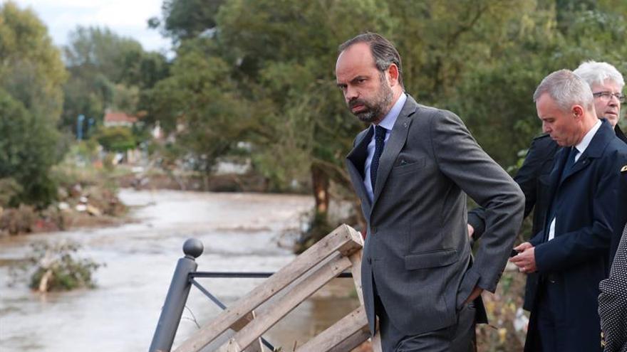 El Gobierno francés se defiende de la alerta tardía de las inundaciones