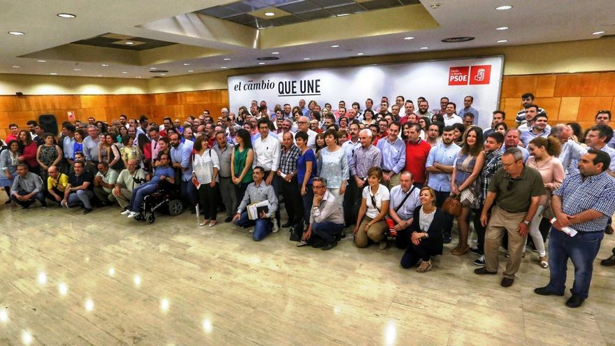 Reunión de las agrupaciones socialistas en Ciudad Real