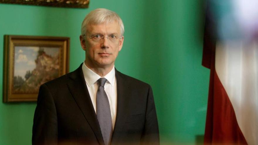 el presidente letón encarga formar gobierno al candidato del partido