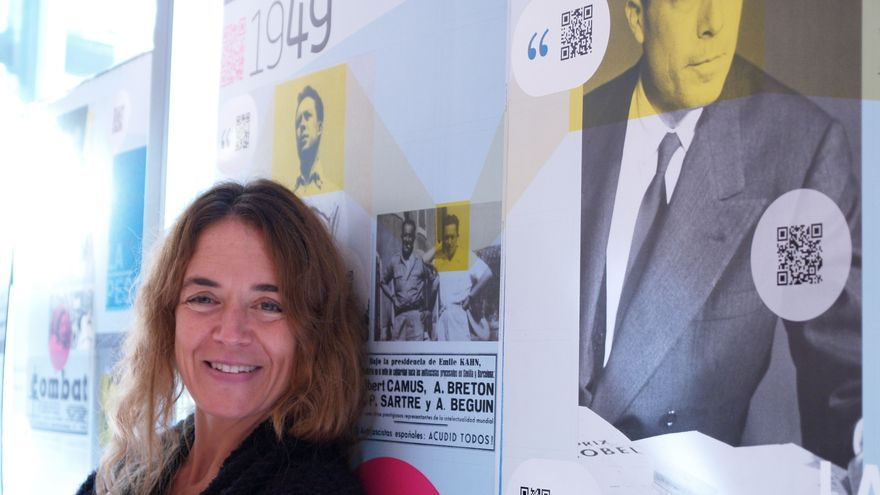 Elisabeth Maisondieu-Camus, nieta del Nobel de Literatura francés, Albert Camus