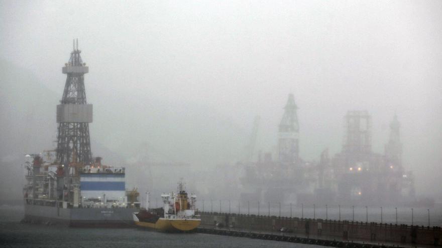 Lluvia fuerte mañana en Canarias y descenso térmico en el centro peninsular