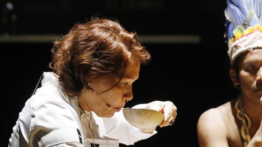 El ancestral mambeo de la coca cierra las ponencias de Bogotá Madrid Fusión