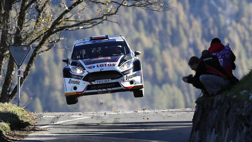 Imagen de la prueba grancanaria que volverá a abrir a los campeonatos de Europa FIA -tres años después- y de España de rallys de asfalto.