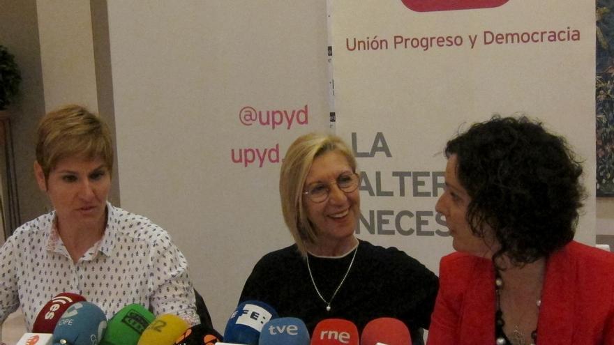 """Rosa Díez aspira a que UPyD sea """"determinante"""" tanto en las Cortes como en los ayuntamientos de CyL"""
