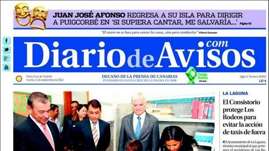 De las portadas del día (11/09/2012) #2