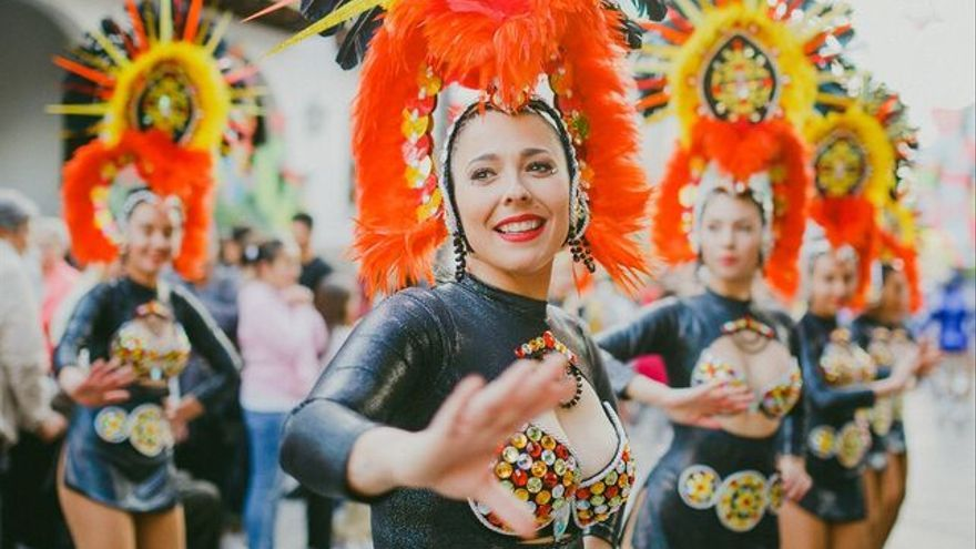 Coso del Carnaval de Los Llanos del pasado año.