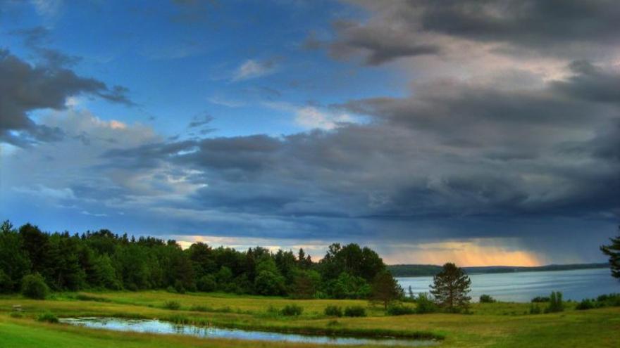 Paisaje de Mount Desert Island, Maine (Estados Unidos), donde la escritora Marguerite Yourcenar vivió gran parte de su vida.