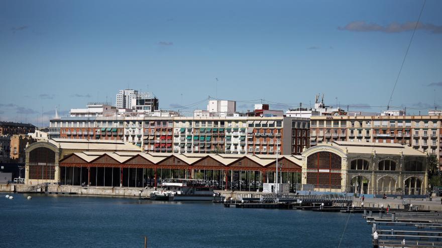 El tinglado 2 del puerto de Valencia