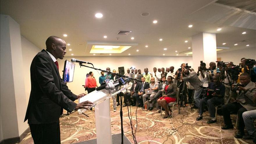 Candidato oficialista asegura que los resultados son victoria para haitianos