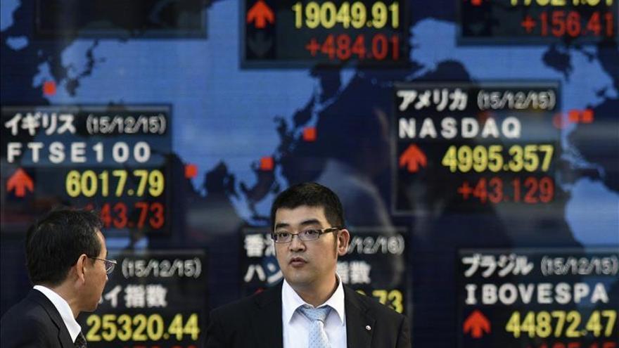 El Nikkei cae un 0,69 por ciento hasta los 18.856,24 puntos